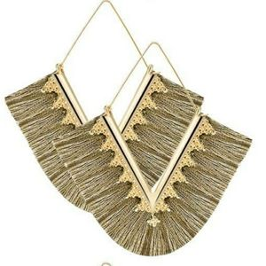 Anthro Fringe Earrings